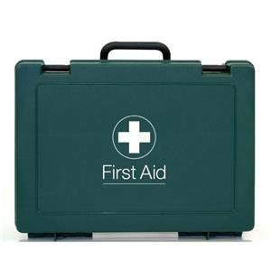 Blue Dot Standard Workplace and Statutory First Aid Kit HSE Compliant/ Pack of 1