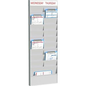 Fast Paper (A5) Document Planner Add-on 20 Compartment Polystyrene Wall Mounted