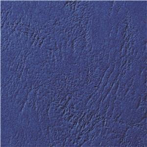GBC Antelope (A4) Binding Covers Leather-Look Plain (Royal Blue)