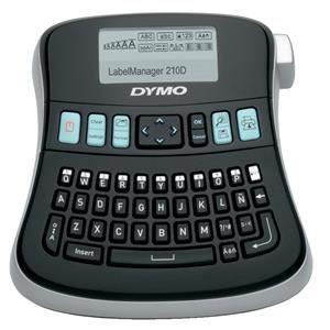 Dymo LabelManager 210D Desktop Label Maker Black / Silver