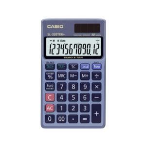 Casio SL-320-TER+ Handheld Calculator 12 Digit 3 Key Memory