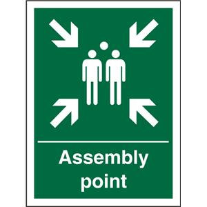 Stewart Superior SP052SAV Self Adhesive Vinyl Sign (150x200) - Assembly Point