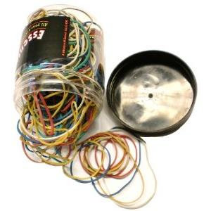 Essentials (75g) Assorted Rubber Bands (Assorted sizes)