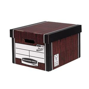 Fellowes Bankers Box Premium (A4/Foolscap) Classic Storage Box / Pack of 10