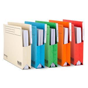 Railex (Foolscap) Shelf Wallet Heavy-Duty Marbleboard 330g/m2 50mm / Pack of 25