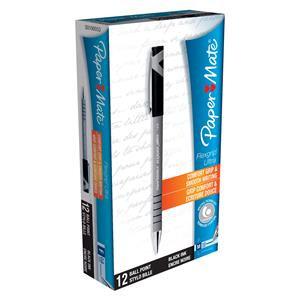 Paper Mate FlexGrip Ultra Ballpoint Pen Medium 1.0mm Tip 0.7mm Line / Pack 12
