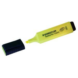 Staedtler Textsurfer Classic 364 (2.5 - 4.7mm) Highlighter Pens (Yellow)