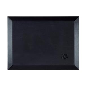 Bi-Office Kamashi Contemporary Notice Board (600mm x 450mm) Black