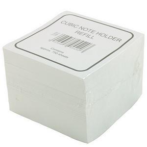 Deflecto Cubic Note Block Refill White