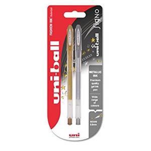 Uni-Ball Signo UM-120 Medium Rollerball Pen Tip (0.7mm) Line (0.4mm) Assorted