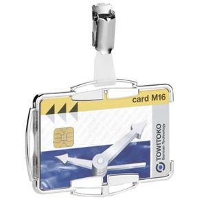 Durable Card Holder RFID Secure (Silver)