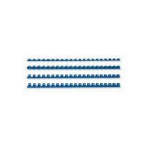 Fellowes 16mm A4 Plastic Comb Blue