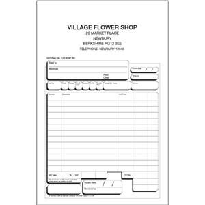 Twinlock Scribe 855 Counter Sales Receipt Business Form 3-Part (140mm x 216mm)
