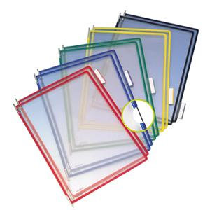 Tarifold (A4) PVC Pockets with Metal Pivots /  Pack of 10