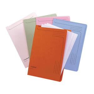 Guildhall (A4) 230gsm 50 Sheets Capacity Slipfile (Green)