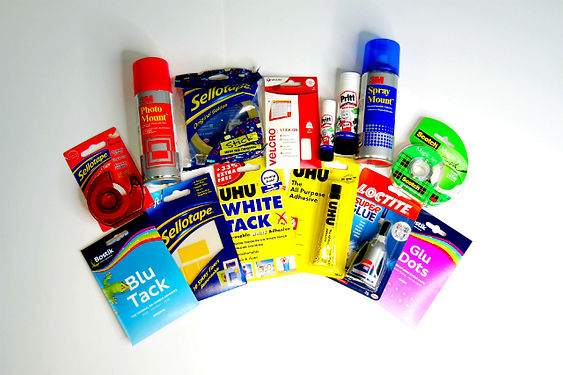 Office Supplies  Adhesives, Pins and Clips