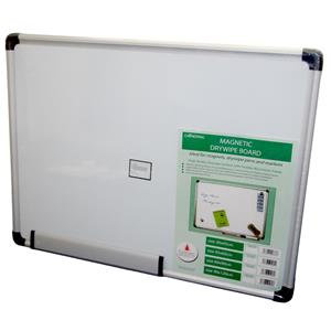 Cathedral Magnetic Drywipe Board with Aluminium Frame
