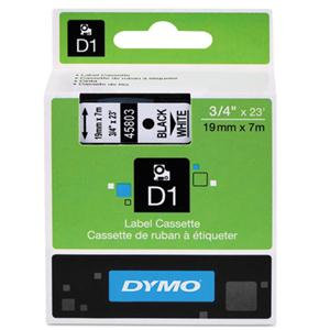 Dymo D1 Gloss Tape for Dymo LabelPoint/Label Manage (Various Sizes, Colours)