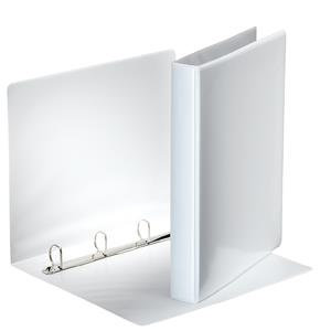 Esselte (A4) Presentation 4 Ring Binder 25mm (White) - Single