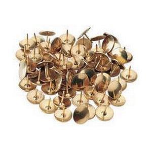 Whitecroft Essentials (9.5mm) Drawing Pins (Brass) /150 Pins