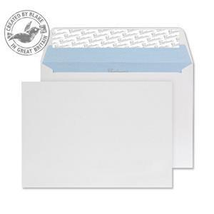 Blake Premium Office (C6) 120g/m2 Peel & Seal Wove Wallet Envelopes Ultra White