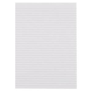 Nu Office (A4) 55g/m2 Memo Pad Feint Ruled (White)