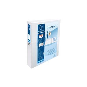 Kreacover (A4+) 4 D-Ring Binder (Pack of 10) - White