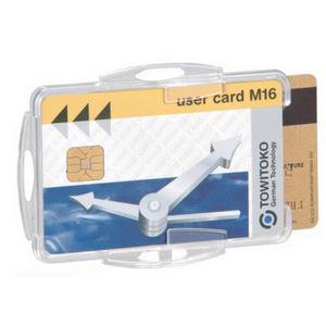 Durable Dual Security Pass Holder without Clip