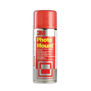 3M PhotoMount Adhesive Spray Can CFC-Free Non-Yellowing (400ml)