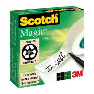 3M Scotch Magic 810 Tape 19mm x 33m Invisible Tape Matt