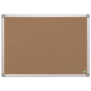 Bi-Office Earth-It Aluminium Frame Cork Board ECO