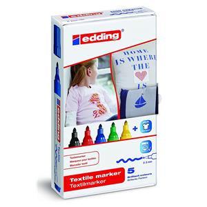 Edding 4500 Textile Marker (Assorted Colours)