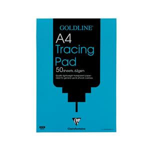 Goldline Popular Tracing Pad 63gsm 50 Sheets A3/A4