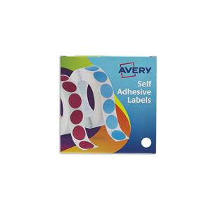 Avery Labels in Dispensers (Various Sizes, Colours, Pack Sizes)