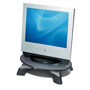 Fellowes Compact TFT/LCD Monitor Riser Graphite for 17 inch Monitor