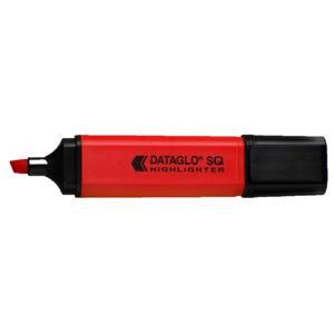 Hainenko DATAGLO Square Highlighter (Red) Chisel Tip
