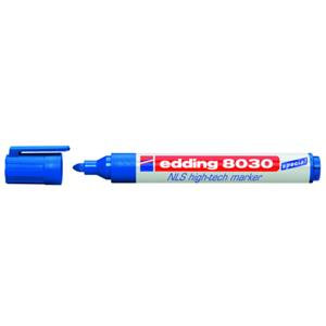 Edding 8030 NLS High-tech Permanent Marker - Blue
