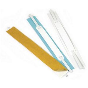 Durable Flexifix Self-Adhesive Fastener (White) - 100 Self-Adhesive Fasteners