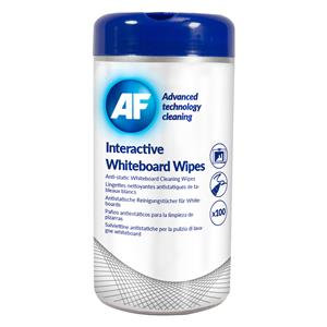 AF Interactive White Board Wipes 100 Wipes