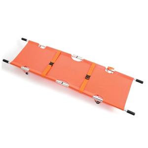 Reliance Medical Relequip Stretcher (Orange) with Aluminium Alloy Frame
