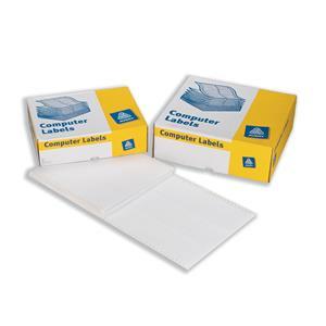 Avery 5623/1 Dot Matrix Printer Labels 89 x 37mm 114mm Wide White
