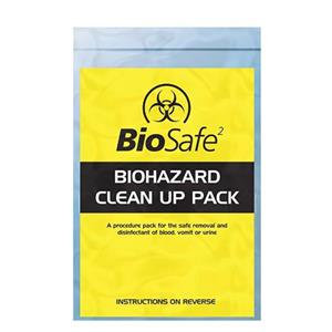 Crest Medical BioSafe BioHazard Standard Clean Up Pack 1 Application