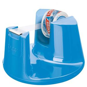 Tesa Easy Cut Compact Desk Dispenser + Tesafilm (1mm5x10m) Crystal Clear