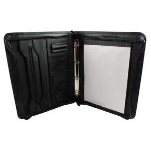 Monolith A4 Folio Case Zipped (Black)