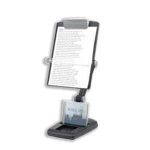 Fellowes Weighted Base Multi-Purpose Copyholder Landscape and Portrait 3 Joints