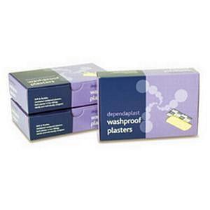 Dependaplast Washproof Plasters Assorted