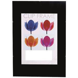 The Photo Album Company Signature Frameless Styrene Clip Frame (Black)