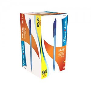 PaperMate InkJoy 100 RT Retractable Medium Tip  /Pack of 80+20 Free