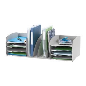 Fast Paper Desktop Organizer 8 Compartments