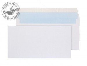 Blake Purely Everyday (DL) 80g/m2 Self Seal Wallet Envelopes (White)